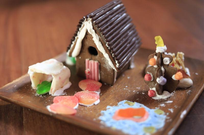 ジンジャーブレッドハウス ハワイ島のクリスマス