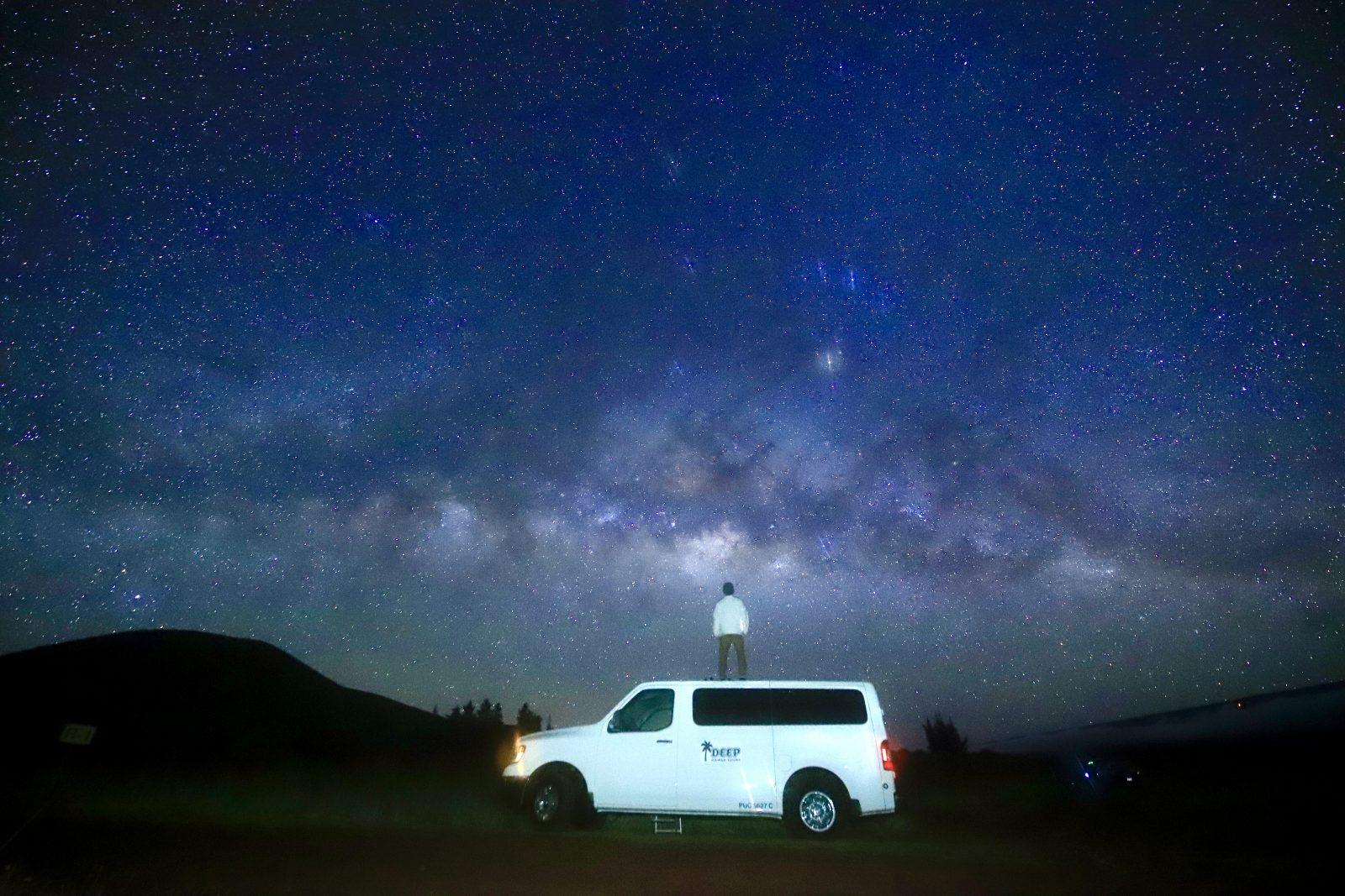 星空ポートレート撮影はハワイ島が世界一。